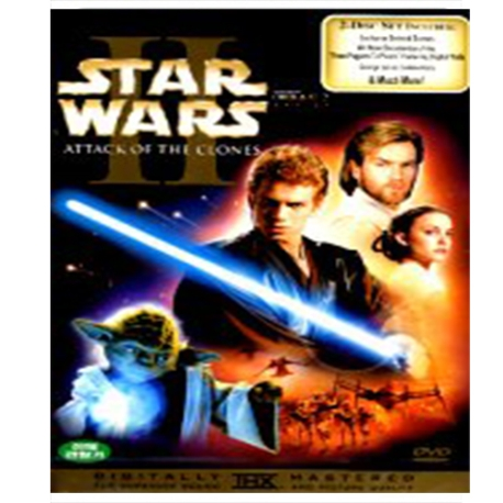 (DVD) 스타워즈 에피소드 2 : 클론의 습격 (Star Wars : Episode II, Attack of the Clones, 2disc)