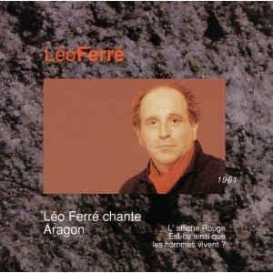[수입] Leo Ferre - Leo Ferre Vol. XI - Chante Aragon - 1961