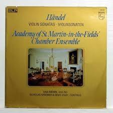 Haendel : Violin sonatas ///LP1