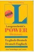 Langenscheidts Power Dictionary : English : Englisch-Deutsche/Deutsche-Englisch