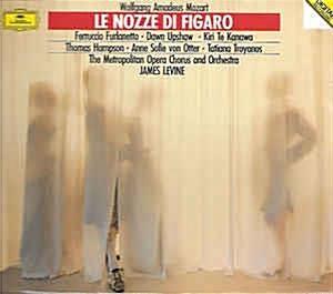 [수입] James Levine - 모차르트 : 피가로의 결혼 (Mozart : Le Nozze Di Figaro) [3CD]