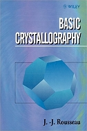 Basic Crystallography 1st Edition