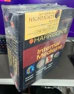Harrison's Principles of Internal Medicine 16th Edition 전2권 (실사진참조)