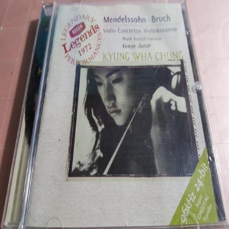 정경화 Legends 1972 - Mendelssohn, Bruch Violin Concertos