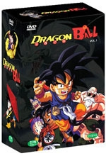 [DVD] 드래곤 볼 Vol.1 (Dragon Ball/5 Disc/미개봉)