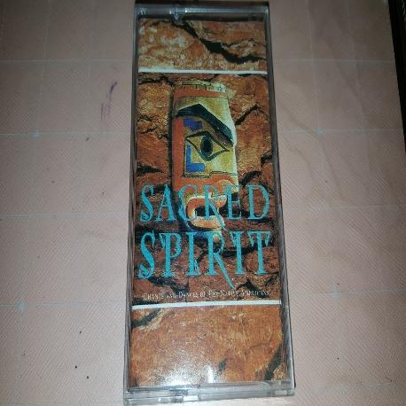(중고 카세트 테이프) Sacred Spirit