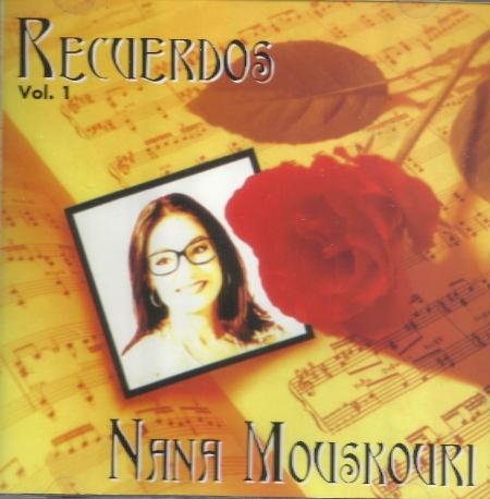 Nana Mouskouri - Recuerdos (추억) 1 [미국수입] 새것같은 개봉 * 나나 무스쿠리