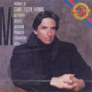 [미개봉] Michael Tilson Thomas / Portrait Of Michael Tilson Thomas (미개봉/CCK7105)
