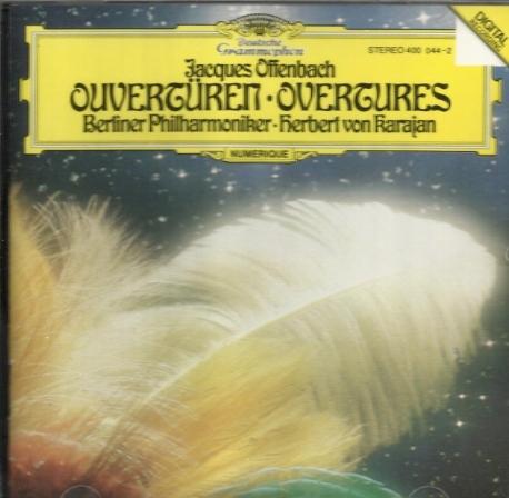 오펜바흐 (오펜바하) 서곡집 (카라얀 지휘 BPO) / Karajan - Offenbach Overtures