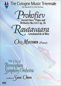 [DVD] Sakari Oramo, Olli Mustonen / The Cologne Music Triennale - Prokofiev Piano Concerto No. 3 / Rautavaara Isle of Bliss (수입)