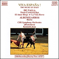 [중고] Kenneth Jean / Viva Espana! - Music Of Spain (수입/8550174)