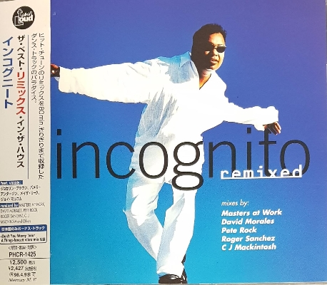 [일본반] Incognito - Remixed