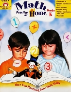 Math Practice at Home Grade K (paperback)