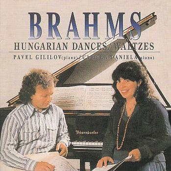Pavel Gililov, Carmen Daniela / Brahms : Hungarian Dances, Waltzes (SRCD1391) (B