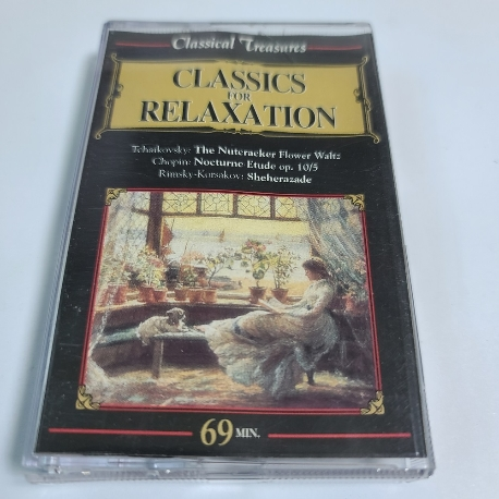 (중고TAPE) Classic for Relaxation