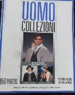 이탈리아 남성패션 잡지 Uomo Collezioni Italian Fashion Magazine   No.4   /사진의 제품 ☞ 서고위치:OE 1