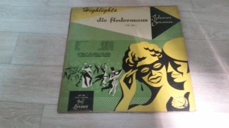Johann Strauss Jr. Clemens Krauss Highlights-Die Fledermaus(The Bat)