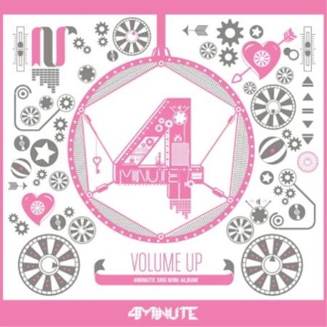 포미닛 (4minute) - Volume Up (3rd Mini Album)[포토카드포함]