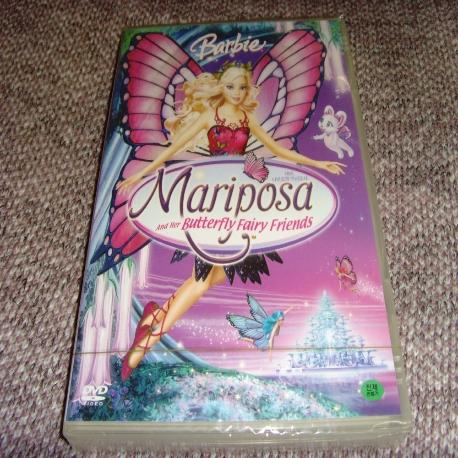 바비: 나비요정 마리포사 [BARBIE MARIPOSA AND HER BUTTERFLY FAIRY FRIENDS] [14년 9월 유니 바비와 비밀의 문 출시기념 프로모션] 새상품 입니다.