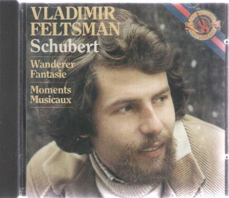 VLADIMIR FELTSMAN Schubert Wanderer Fantasie Moments Musicaux