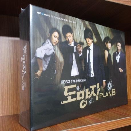 도망자 PLAN B [KBS 수목드라마] [14년 6월 디엔티미디어 드라마 할인행사] 미개봉 새상품 입니다.