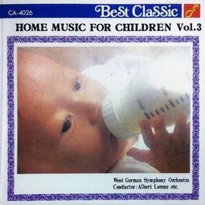 V.A. / Home Music For Children Vol.3 (일본수입/미개봉/ca4026)