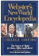 [영어원서 백과사전] Webster's New World Encyclopedia - College Edition (1993년) [양장]