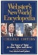 [영어원서 백과사전] Webster's New World Encyclopedia - College Edition (1993년) [양장]