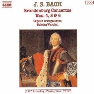 [중고] Bohdan Warchal / Bach: Brandenburg Concertos Nos. 4-6 (수입/8550048)