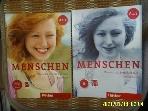Hueber 2책/ MENSCHEN Deutsch als Fremdsprache Kursbuch. Arbeitsbuch A1.1 / A1.1 /  -사진.꼭상세란참조