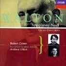 Robert Cohen, Andrew Litton / Walton : Symphony No.1, Cello Concerto (수입/미개봉/4434502)