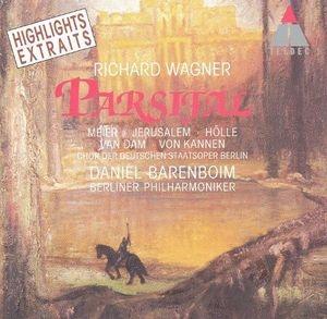 Daniel Barenboim / Wagner : Parsifal - Highlights (수입/4509979102)