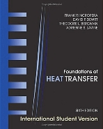 Foundations of Heat Transfer (Paperback, 6th Edition International Student Version)