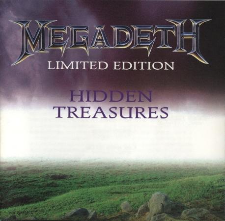 [일본반] Megadeth - Hidden Treasures [Limited Edition]
