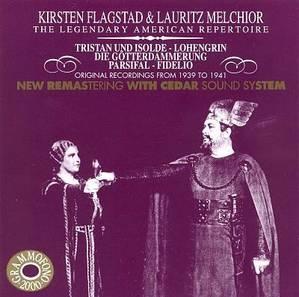 [미개봉] Kirsten Flagstad & Lauritz Melchior / The Legendary American Repertoire (수입/미개봉/AB78526)