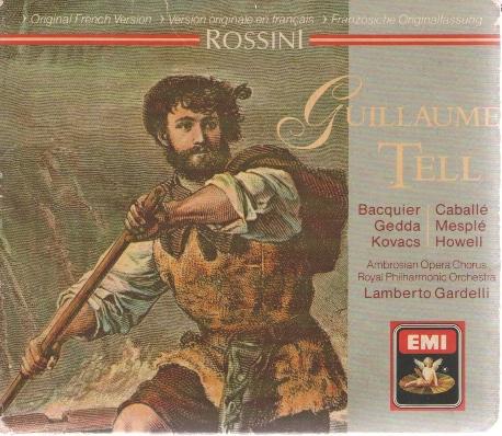 Rossini Guillaume Tell - 로시니 윌리엄 텔 4CDs