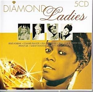 [미개봉][수입] V.A - DIAMOND LADIES GOLDEN STARS [5CD][Box set]