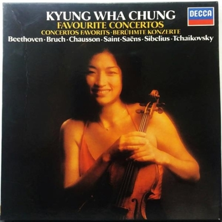 KYUNG-HWA CHUNG / FAVOURITE CONCERTOS (3LP) 상품소개 참고하세요