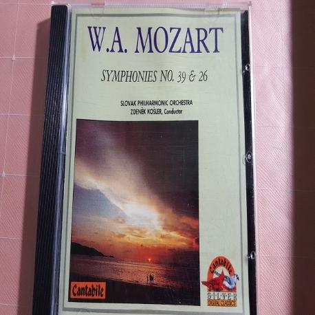 Mozart - Symphony No39 and No.26