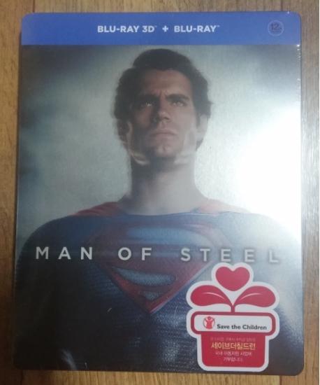 맨 오브 스틸: 3D+2D [스틸북 한정판] [MAN OF STEEL]