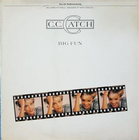 C.C. CATCH - BIG FUN [LP] [1989년 서울음반 오리지널 발매반][반품절대불가]