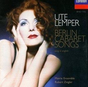 Ute Lemper / 베를린 캬바레 송 (수입/4528492)