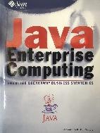 Java Enterprise Computing★Hardcover/설명참조★