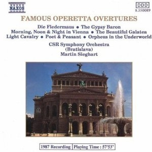 [중고] Martin Sieghart / Famous Operetta Overtures (수입/8550089)