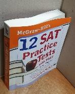 12 SAT PRACTICE TESTS WITH PSAT(SECOND EDITION) =외형 휨현상/내부테두리 변색,사용감 거의 없습니다/실사진 참고하세요