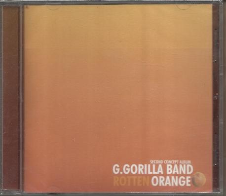 지고릴라밴드 (G.Gorilla Band) 2집 - Rotten Orange [미개봉] * 고현기