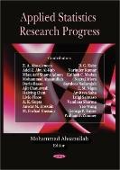 Applied Statistics Research Progress (ISBN : 9781604561036)