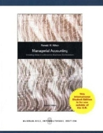Managerial Accounting (페이퍼백-7판)