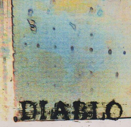 디아블로(Diablo) - Diablo (일본 발매 홍보반) /개봉 양픔