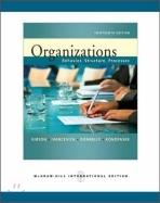 Organizations (13th Edition, Paperback) - Behavior, Structure, Processes